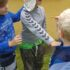 Puslinge og tumlinge har i dag været på løb, hvor samarbejde var et af nøgleorde…