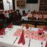 Tirsdags Klubben holdt julefrokost med 85 deltagere i hallen.