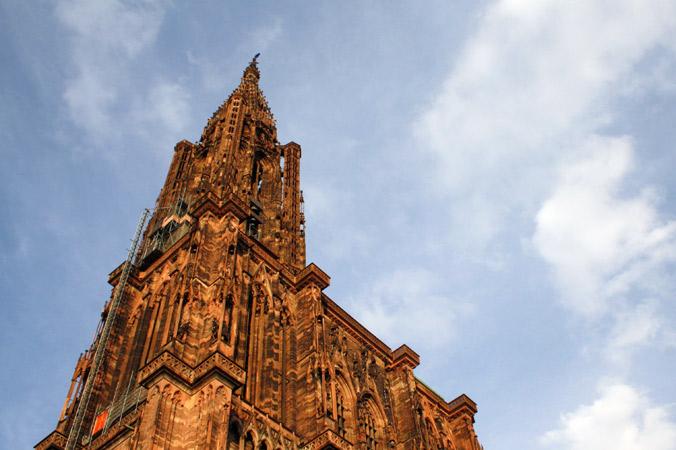 Turen gik bl.a. forbi den gotiske katedral